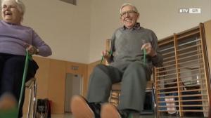 Gymnastik hält fit und jung - auch mit 80!