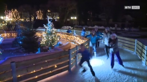 Kaiserliches Eis und der Nikolaus in Bad Ischl