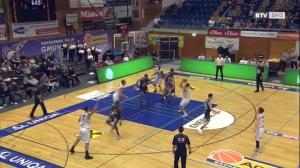 Basketball: Basket Swans Gmunden - Kapfenberg Bulls