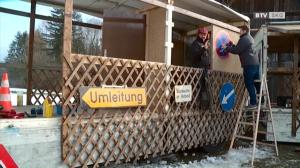 Die Faschingsumzugs*-wagenbauer in Scharnstein