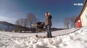 Wintergrillen mit Marianne Gollenz