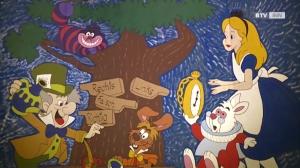 Ganz Schärding mit Alice im Wunderland