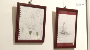 Vernissage Wolfgang Panuschka - Zeichnungen aus 20 Jahren seines Lebens