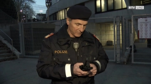 Sicherheits*-vorkehrungen beim OÖ-Derby zwischen BW Linz und der SV Guntamatic Ried