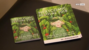 Nextcomic Festival unter dem Titel 'next to Alice'