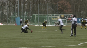 Football: Gladiators Ried vs. Wörgl Warriors