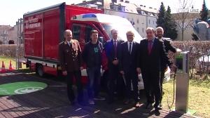 Neuheit: Feuerwehr*-einsatzfahrzeug mit E-Antrieb