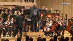 Uraufführung Gunter Waldek's 1. Symphonie