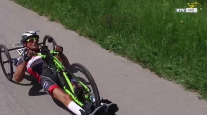 Ablinger fährt verletzt zum Toursieg
