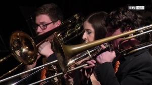 Jugend-Brassband OÖ mit dem besten Solomusiker Europas