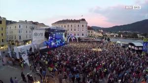 Rathausplatz wird zum Festivalgelände - Gmunden rockt 2018