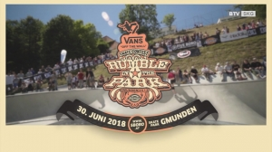 Rumble in the Park - Skater-Elite aus ganz Europa zu Gast in Gmunden