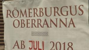 Römerburgus in Oberranna eröffnet - Teil 3 der Landesausstellung 2018
