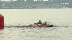 Schnell, schneller, Rettungsschwimmer
