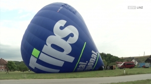 Tips Ballon zur Jungfernfahrt