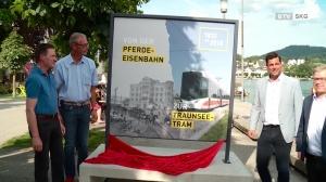 Von der Pferdeeisenbahn zur Traunsee Tram