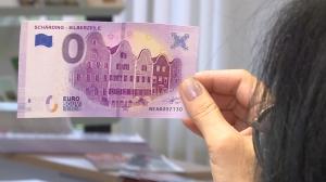 Schärding's Silberzeile ziert ersten 0-Euro-Schein OÖs