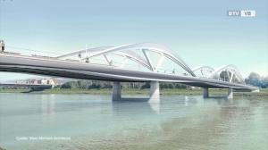 Spatenstich für neue Donaubrücke