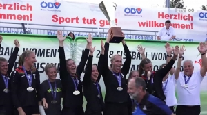 Frauen Faustball WM 2018 - Das Finale