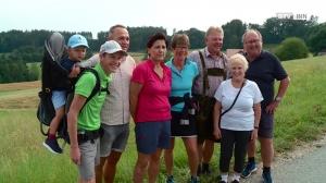 Wandern mit Andreas Goldberger und Annemarie Moser-Pröll