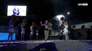 Eröffnungsfeier des Pro Beach Battle in Litzlberg