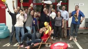 Reinigungsfirma Schmidt nimmt an Grillpool Challenge Teil
