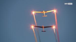 Hafenfest mit atemberaubender Flugshow