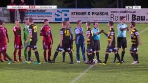 FB: Landesliga-West: Union Mondsee - SV Schalchen