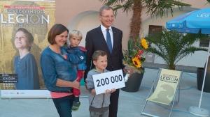 Landesausstellung: bereits 200.000 Besucher